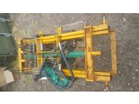 Fork lift attachment. 3 point linkage for tractor