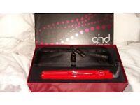Ghd hair straighteners in box
