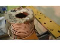Reel of 6 wire burglar cable.
