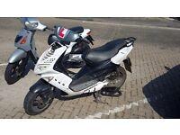 Peugeot Speedfight 2 100cc registered as 50cc