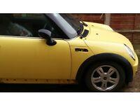 mini one 2004 diesel spares breaking