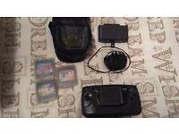 Sega Game Gear bundle, Master System Converter, case and 3 games