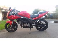Suzuki SV650S Motorbike 650cc Plus Extras, Heated Grips, Fuel Exhaust, K and N. Rides Perfect