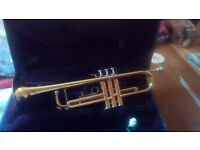 Trumpet for Sale! (Excellent condition with case & valve oil included!)