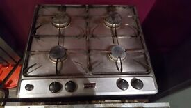 Stoves 4 burner gas hob with stoves electric double oven