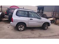 2001 SUZUKI GRAND VITARA SPORT 16V, 1.6 PETROL, BREAKING FOR PARTS ONLY,POSTAGE AVAILABLE NATIONWIDE