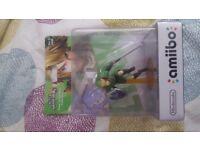 Amiibo Link Zelda - Smash Bros