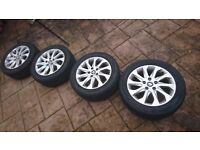 5x112 16 alloy wheels, seat, vw, audi, skoda, mercedes