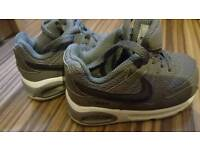 Air max baby trainers size 5