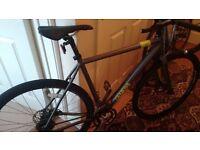 bike . Genesis cda . Cyclocross model.