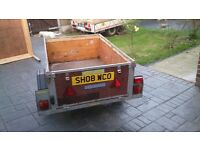 "Car Trailer 500kg 3'3""x4'10"" or 1m x 1.5m Internal Dimensions"