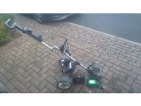 Billy Goat Electric Golf Trolley -as new condition. With charger and battery