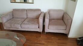 double sofa and one single