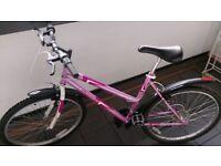 Nice pink dunlop bike + lock URGENT !