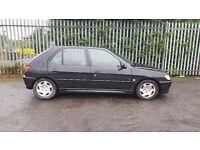 Peugeot 306 1.4 5 door hatchback spares or repair