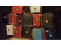 Wholesale Joblot brand new Cases Covers Wallets for iPad 1 2 3 4 & iPad Mini 92 pieces new
