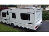 COMPASS CORONA 544 luxury fixed bed caravan 2007 by elddis