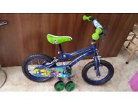 ben 10 14in bike hardly used