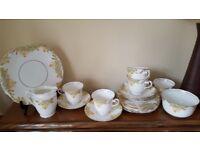 Vintage tea set. Daffodil Rosina China