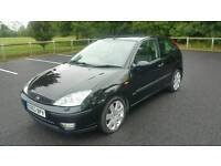 2003 Ford Focus 2.0 Zetec ESP 3dr * Limited Edition Wheels *Full Leather Interior IMMACULATE! Not ST