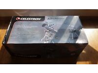 NEW IN BOX Celestron AstroMaster 114EQ Reflector Telescope