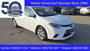 2015 Toyota Corolla LE | One Owner | Heated Sears