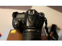 For sale all kit Nikon d7200 Nikkor lens and battery grip
