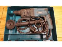 Makita hammer drill HR2450 fully working good condition