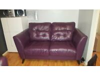 4 Piece Leather Sofa set For sale