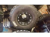 Beadlock wheels raptor suzuki ktm quad