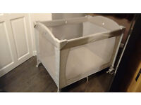 Mothercare Bassinette and Travel Cot