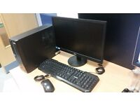 "12 SETS OF: Acer Aspire XC-603 DESPTOP PC w/ 19"" AOC Monitor - USB Keyboard - USB Mouse"