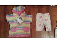 KIDS BABY GIRL CLOTHES BUNDLE 12 - 18 Months 30 pc GAP H&M MONSOON HELLO KITTY COAT DRESS HAT SWIM