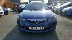 Mazda 6 TS 2007 Blue Roof Rack Twin Exhaust Clean