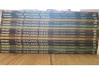 Walking dead volumes 1-15 and 17