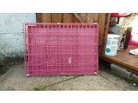 Easipet pink small dog cage