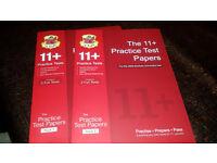 CGP 11+ Practice Test Papers (CEM) Packs 1 & 2 (11 Plus)