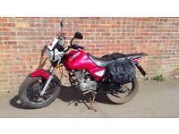 Zontes 125cc motorcycle 2016