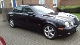 3.0 JAGUAR S TYPE SPORTS IN BLACK BEAUTIFUL