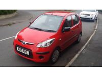 2010 / 10 PLATE Hyundai I10 1.2 Classic 5dr ONLY 28K MILES FROM NEW 60+MPG £30 TAX