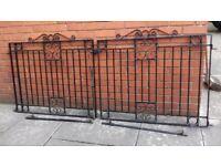 gates wrought iron