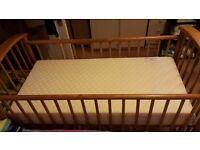 Baby Cot with NEW Mattress