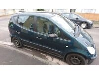 2002 Mercedes A Class 1.7 CDI Classic in very good condition