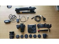 !!PRICE DROP!! PANASONIC GH4 + 3 LENSES + ALL KIT COMPLETE PRO PHOTOGRAPHY / FILMING CAMERA OUTFIT