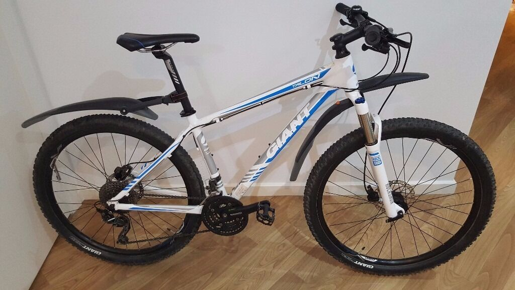 Giant Talon 2 2015 Mountain Bike 27 5 White Hardtail Mtb In