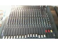Soundcraft spirit 3-2 live 16 channel mixing desk