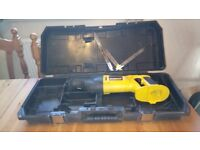 Used Dewalt 18 v cordless Reciprocating saw, GWO, please see photos & details