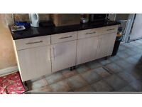 Kitchen Cabinet / Cupboards - base units, wall units and worktops