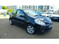 Renault Clio 1.2 16v Expression 3dr SMOOTH DRIVE. FULL SERVICE HISTORY 2006 LONG MOT