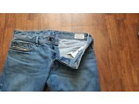 """Mens jeans great condition one pair firetrap 3 pairs diesel all size 30""""waist 32"""" leg"""